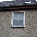 Putzrisse,, Bereich der Fenstersturz