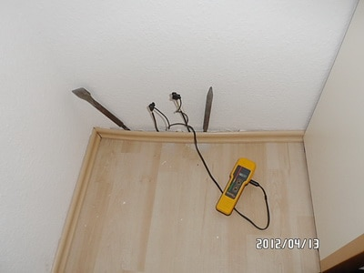 """""""Feuchtemeßgerät Protimeter mit Tiefenelektroden""""- Äquivalente Holzfeuchte zur Feuchtemessung Wand & Fußboden"""