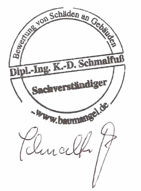 Baubegleiter Augsburg Baugutachter-Bausachverständiger-Baubegleiter-Zertifikat Bauabschnittsbegleitung