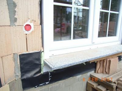 bodentiefe Fenster Schimmelpilz-französische Fenster Schimmel Balkon Terrasse