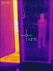 Heizenergie sparen mit Infrarot Bau-Thermografie