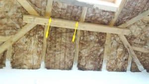 Baukontrolle Dachdämmung Isolierung Steildach Kontrolle auf Kältebrücken und Wärmebrücke