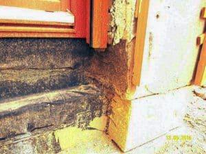 Baukontrolle Isolierung Balkon Abdichtung bodentiefe Fenster