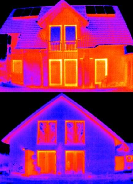 Gemeinschaftseigentum & Sondereigentum abnehmen, Wärmedämmung