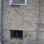 Bereich der Fensterbrüstung