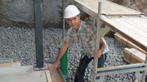 Baubegleitung Baubegleiter Bausachverständiger Baugutachter Bauleistungs-hilfe Baubegehung Begehungsprotokoll Baustelle Baustellenprotokoll, Sockel, Bodenschwelle