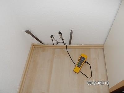 """Feuchtemessgerät Protimeter mit Tiefenelektroden""""- Äquivalente Holzfeuchte zurFeuchtemessung bei Schimmel"""