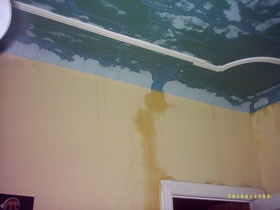 Wasserschaden Wand & Decke, Wasserschäden