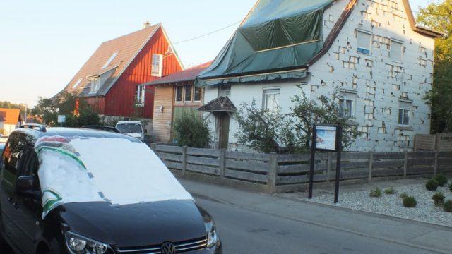 Hagel Schaden Auto & Haus Hagelschaden eigener Gutachter