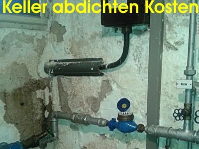 Keller abdichten von innen, Kosten, Kellersanierung, stinkender Keller, nachträglich abdichten, Kellerabdichtung