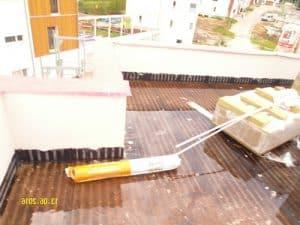 Baukontrolle Dachdämmung Isolierung Flachdach Kontrolle auf Kältebrücken und Wärmebrücken