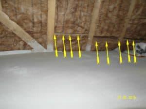 sachverstaendiger hausbau Baukontrolle Dachdämmung Isolierung Steildach Kontrolle auf Kältebrücken und Wärmebrücke