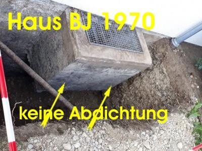 Bevorzugt Keller abdichten - Kosten - Baugutachten 0172 935 2727 CX15